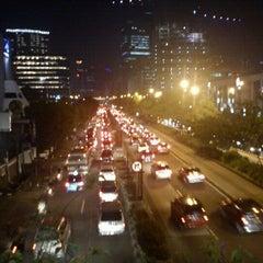 Photo taken at Jalan H.R. Rasuna Said by Ronny H. on 1/21/2013