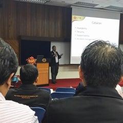 Photo taken at Pusat Komputer UTM (CICT) by Jaffar Sidek H. on 10/16/2014