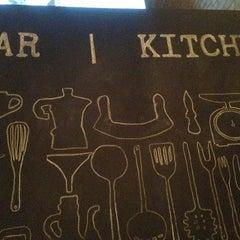 Photo taken at Bar | Kitchen by Paul B. on 2/20/2013