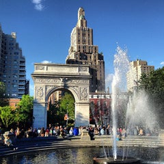 Photo taken at Washington Square Park by Riccardo R. on 5/26/2013