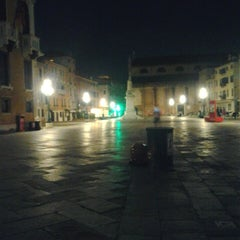 Photo taken at Campo San Stefano by Nicolò B. on 7/22/2013