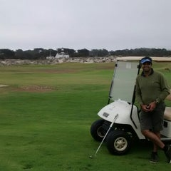 Photo taken at Pacific Grove Golf Links by Girish S. on 7/27/2014