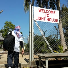 Photo taken at Muka Head Lighthouse by Anis A. on 2/7/2015