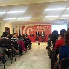 Photo taken at Escuela de Negocios Cámara Sevilla by Geographica G. on 11/9/2012