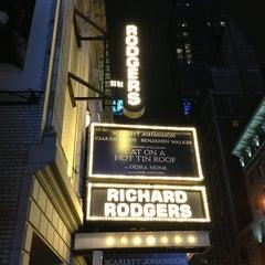 Photo taken at Richard Rodgers Theatre by Jenn B. on 3/7/2013
