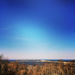 Photo taken at Highlands, NJ by Michael A. on 4/12/2014