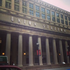 Photo taken at Chicago Union Station by Bridgid B. on 6/23/2013