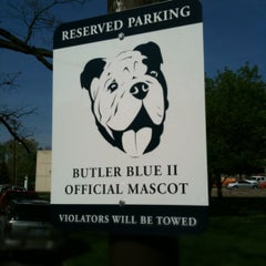 Photo taken at Butler University by Chuck G. on 4/3/2012