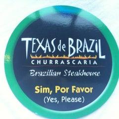 Photo taken at Texas de Brazil by Vanessa R. on 4/3/2012
