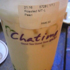 Photo taken at Chatime by Sylvia S. on 3/29/2012