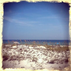 Photo taken at Perdido Key Beach by Wesley S. on 7/29/2012
