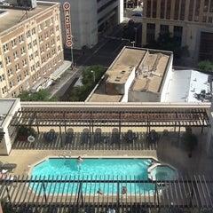 Photo taken at Courtyard San Antonio Riverwalk by Deborah on 7/26/2012