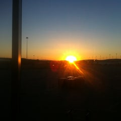 Photo taken at Gate A16 by Phillip d. on 9/10/2012