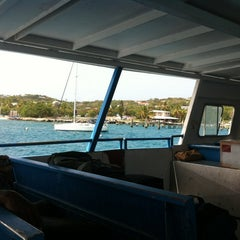 Photo taken at St. Thomas - St. John Ferry by Bill J. on 7/10/2012