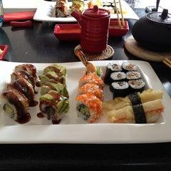 Photo taken at Hai Sushi Kalamış by Ulas C. on 3/9/2012