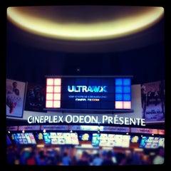 Photo taken at Cinéma Cineplex Odeon Ste-Foy by Christian D. on 8/10/2012