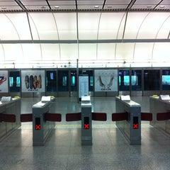 Photo taken at MTR Hong Kong Station 香港站 by That John on 3/22/2012