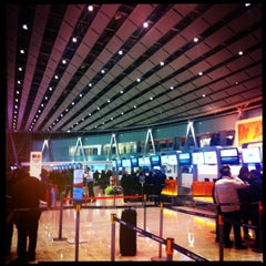Photo taken at Zvartnots International Airport | Զվարթնոց Միջազգային Օդանավակայան (EVN) by David M. on 2/11/2012
