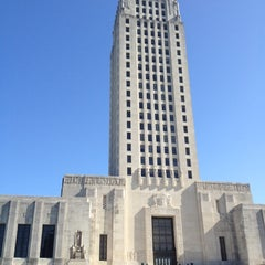 Photo taken at Louisiana State Capitol by Zach S. on 4/22/2012
