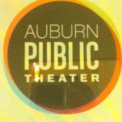 Photo taken at Auburn Public Theater by Chris D. on 4/21/2012
