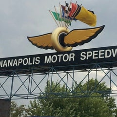 Photo taken at Indianapolis Motor Speedway by Stacie on 7/28/2012