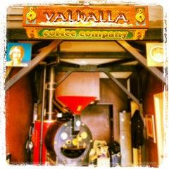 Photo taken at Valhalla Coffee Roasters by Lauren on 6/17/2012