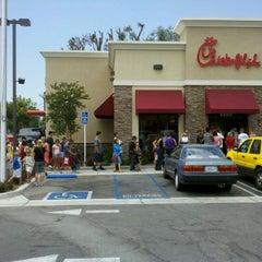 Photo taken at Chick-fil-A by Brian on 8/1/2012