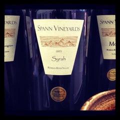 Photo taken at Spann Vineyards by Rick B. on 7/27/2012
