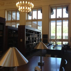 Photo taken at Harvard Law School Library by Heather B. on 6/10/2012