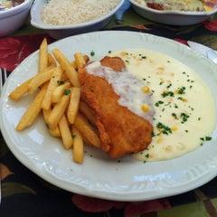 Photo taken at Restaurante Sal da Terra by Fabiana D. on 8/29/2012