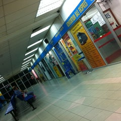 Photo taken at Sungai Nibong Express Bus Terminal by jjessicaz on 3/27/2012
