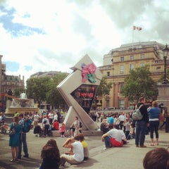 Photo taken at London 2012 OMEGA Countdown Clock by Chris P. on 8/25/2012
