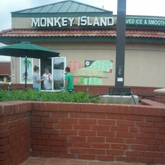 Photo taken at Monkey Island Shaved Ice by Cody B. on 4/28/2012