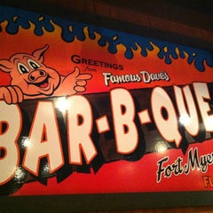 Photo taken at Famous Dave's by James D. on 7/22/2012