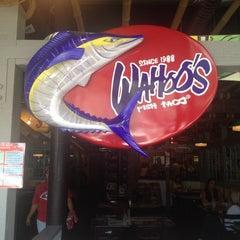 Photo taken at Wahoo's Fish Taco by Ryan B. on 8/22/2012
