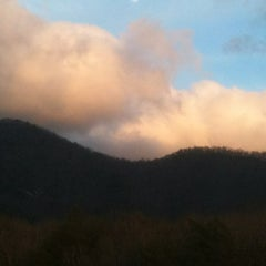 Photo taken at Trackrock Campground by Paula C. on 3/21/2012