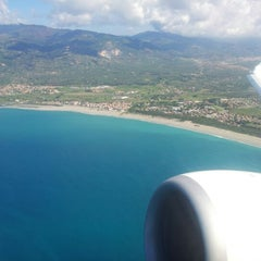 Photo taken at Aeroporto Internazionale di Lamezia Terme (SUF) by Uwe R. on 9/7/2012