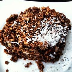 Photo taken at Mantras Café by Alejandro G. on 4/9/2012