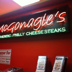 Photo taken at McGonagle's Philly Cheesesteaks by Rowie N. on 2/26/2012