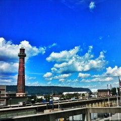 Photo taken at Yonkers Train Station - Metro North & Amtrak by Nick B. on 8/6/2012