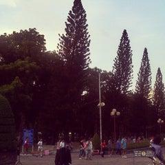 Photo taken at Le Van Tam Park by Wy~ N. on 4/9/2012