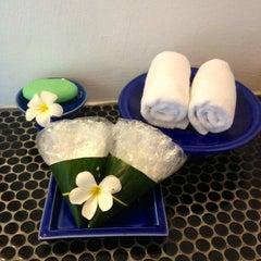 Photo taken at Mooban Talay Resort (หมู่บ้านทะเลรีสอร์ท) by 🐾 lek  lek 🐾 . on 4/17/2012