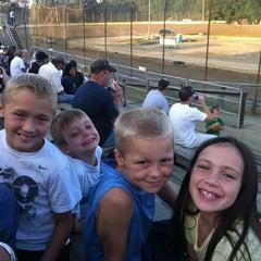 Photo taken at Moler Raceway Park by Beth B. on 8/4/2012