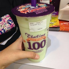 Photo taken at Chatime by Fatin D. D. on 2/24/2014