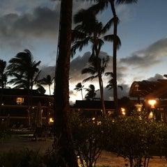 Photo taken at Ko'a Kea Hotel & Resort by Jeffrey B. on 7/12/2015