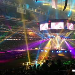 Photo taken at RODEOHOUSTON by jess f. on 3/5/2013