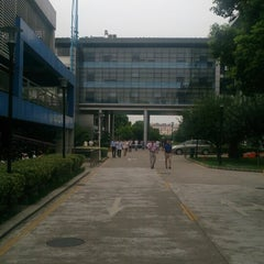Photo taken at 苏州国际科技园 Suzhou International Science Park by LU W. on 8/12/2014