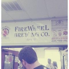 Photo taken at Firewheel Brewing Co. by Dorian L. on 4/14/2013