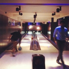 Photo taken at All Star Lanes by Fiona S. on 9/27/2012