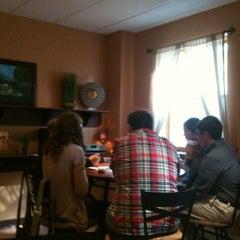 Photo taken at Cornerstone Coffeehouse by Vicki C. on 9/30/2012